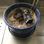 安価な暖房器具を自作してみる:その1 手火鉢を楽しむ
