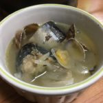 NHKで紹介してたサバのコトリヤードを、サバ缶使った一人鍋にアレンジして作ってみた