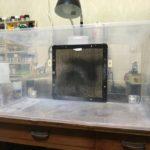 自作塗装ブースの作り方(その2)排気口は防水(雨水対策)と防虫に注意