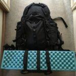 キャンプ泊にAmazonの格安バックパックを使ってみた感想【レビュー】