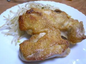 鶏 モモ パリパリ 焼き