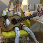 小物を作れば完成は近い!まずはギター!【1/12ドールハウス⑨】