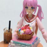 【創彩少女庭園】今日はカフェテーブル&チェアーを素組みします