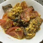 さば缶とトマトの中華炒めを作ってみた。ストック食材で超簡単です【レシピ】